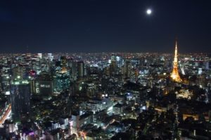月見 楽しむ方法 夜景