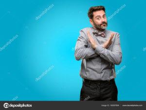 髭男 嫌い 画像