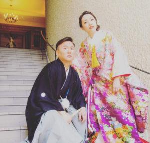 かまいたち 山内 嫁 結婚式 画像