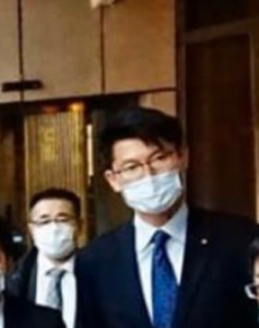 バスカフェ 視察 朝日健太郎