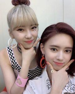 NiziU 韓国の反応 ラップ 画像