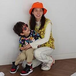 仲里依紗 子供 茶髪 スカウト 画像