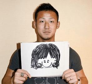 中田翔 嫁 顔 画像